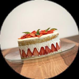 Erdbeer-Puddingcreme-Torte
