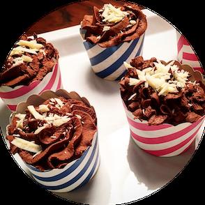 schoko-eiweiß-muffins